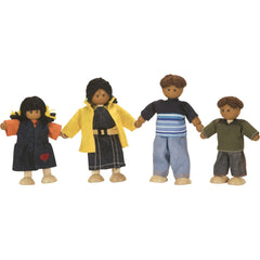 4-Member Hispanic Doll Family