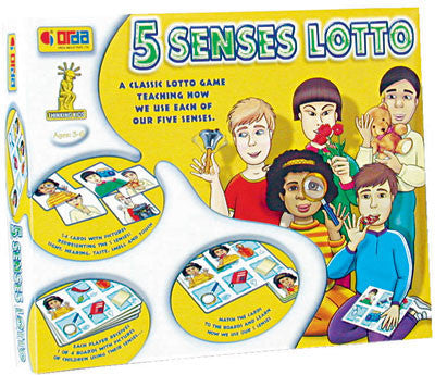 5 Senses Lotto Game