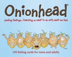 Onionhead 150 Feelings Cards (Teens & Adults)