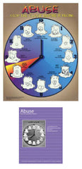 "Abuse Cycle Poster Set (Includes 18"" x 24"" Poster & Guidebook)"