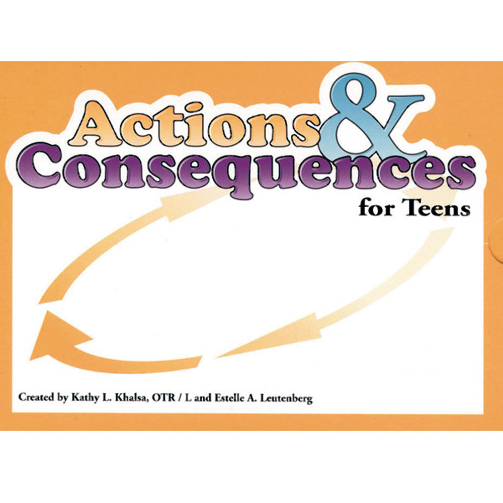 Actions & Consequences Card Game for Teens