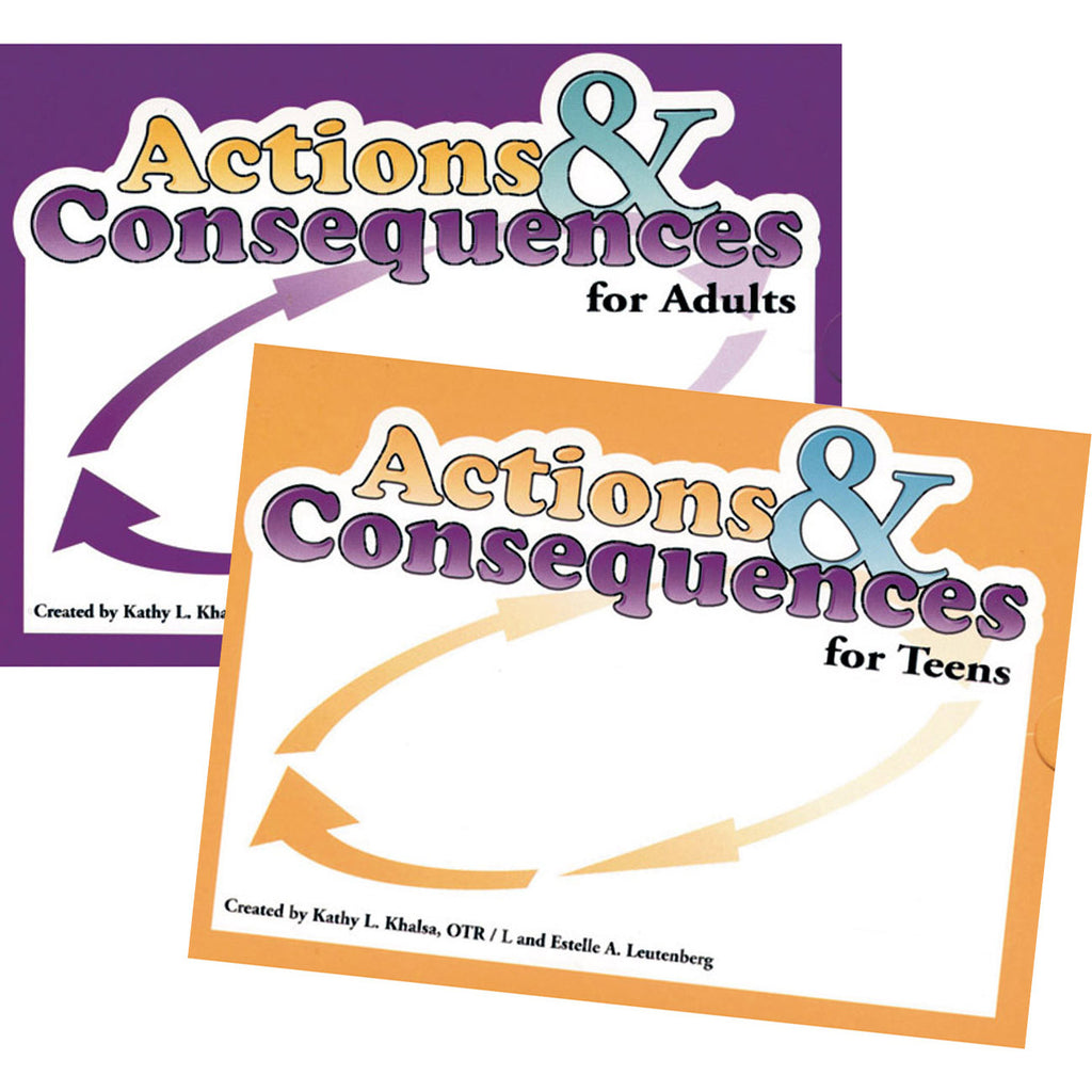 Actions & Consequences Card Game Set
