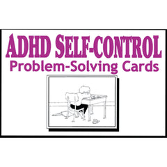 ADHD SELF-CONTROL Problem Solving Cards