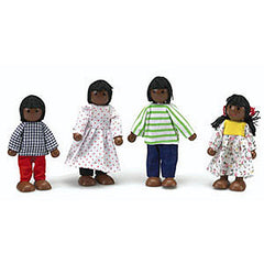 African-American Doll Family - Value Set