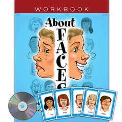 About Faces Card Game & Workbook (w/ CD) Set