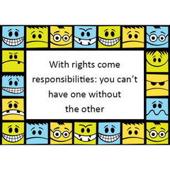All About Responsibility Discussion Cards