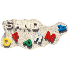 ALPHABET - Sand Molds (26-Pieces)