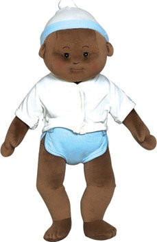 Anatomically Correct - Soft Doll Baby (African-American Boy)