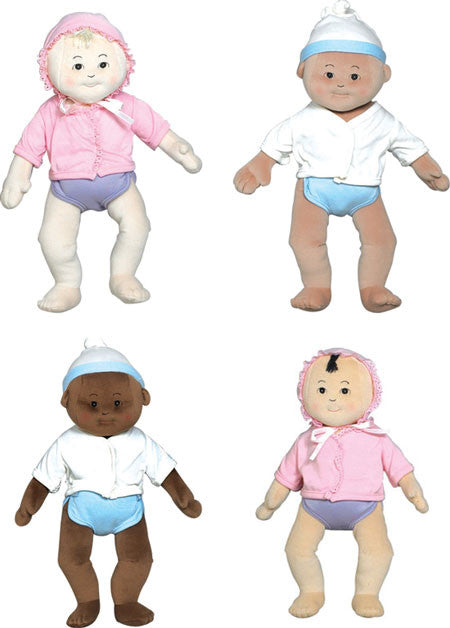 Anatomically Correct - Soft Doll Babies (Set of ALL Four)
