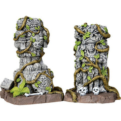Miniature - Statues, Ancient (Set of 2)
