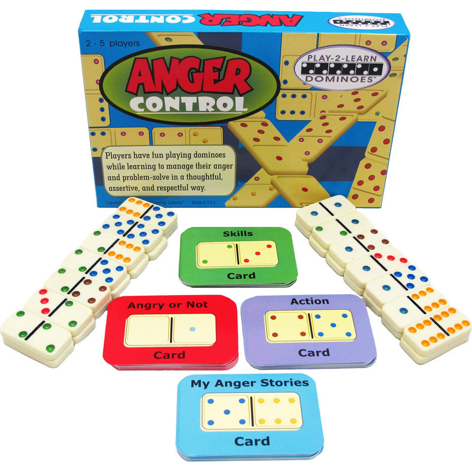 ANGER CONTROL (Play 2 Learn Dominoes)