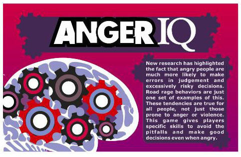 ANGER IQ Game (with CD)