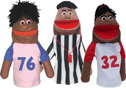 Anger Management Puppet Set (African-American)