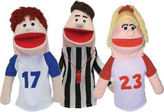 Anger Management Puppet Set (Caucasian)