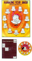 The Anger Management Poster Kit (Includes Poster, Magnet & Guidebook)