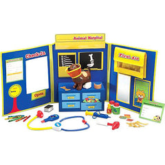 Animal Hospital - A Complete 34 Piece Play Set!