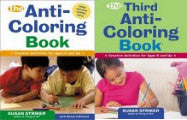 Anti-Coloring Books (Set of 2)