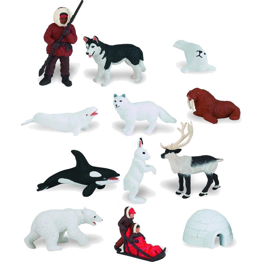 Miniature - Arctic Set (12-Figures)