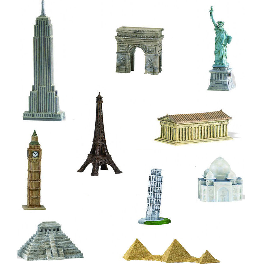 Miniature - Around the World Set (10-Pieces)