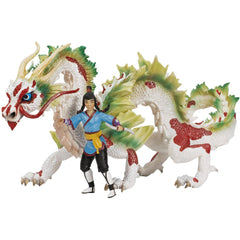 Exotic Asian Dragon w/ Dragon-Rider