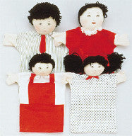 Machine-Washable Puppet Family (Asian)