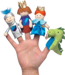 At the Castle Finger Puppet Set