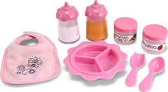Baby Doll Feeding Set (8-Pieces)