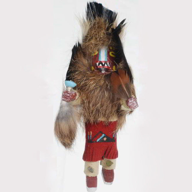 The Badger Chief Kachina Doll