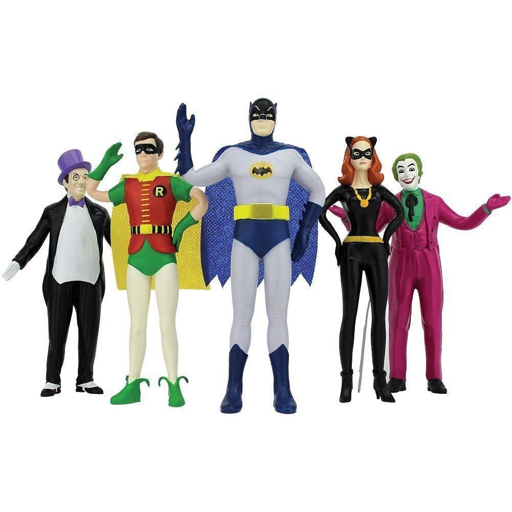 Batman Box Set (5 Bendable & Poseable Figures)