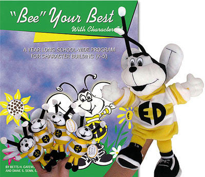 """Bee"" Your Best with Character Ed Program (w/ 5 Puppets)"