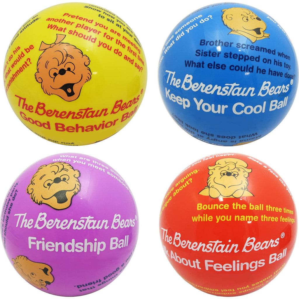 The Berenstain Bears Balls, Set of 4