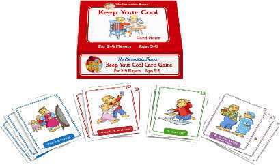 Berenstain Bears - Keep Your Cool Card Game