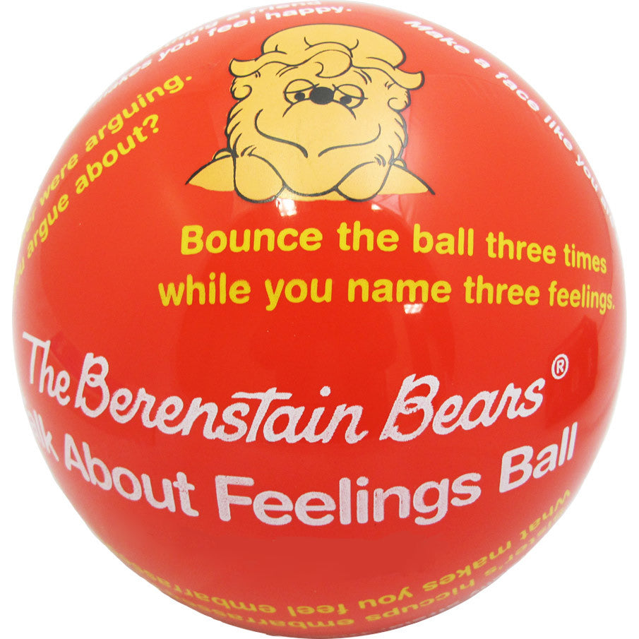 The Berenstain Bears Talk About Feelings Ball
