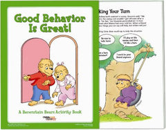 Berenstain Bears 'Good Behavior' Activity Books (25 Pack)