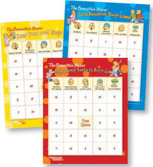 Berenstain Bears Bingo Games, Set of 3