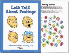 Berenstain Bears 'Talking About Feelings' Activity Books (25 Pack)