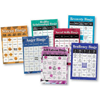 BINGO Games for Adults (7 Game Set)