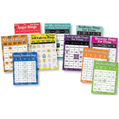 BINGO Games for Teens (10 Game Set)