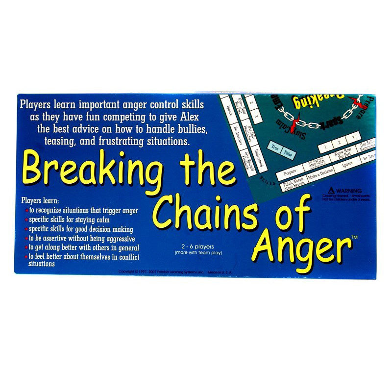 Breaking The Chains Of Anger Game