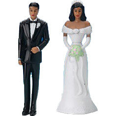 Miniature - Bride and Groom (Ethnic)