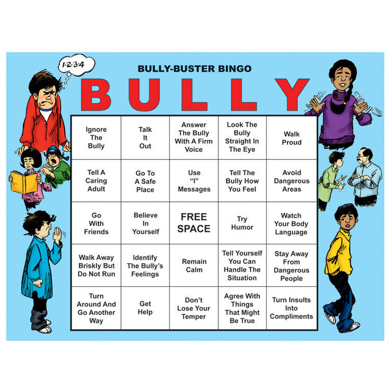 Bully-Buster Bingo (with Leader's Guide & CD)
