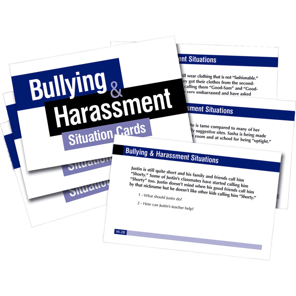 Bullying & Harassment Situation Cards