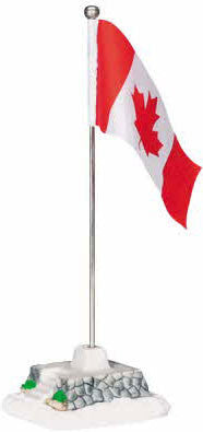 Miniature - Canadian Flag on Pole
