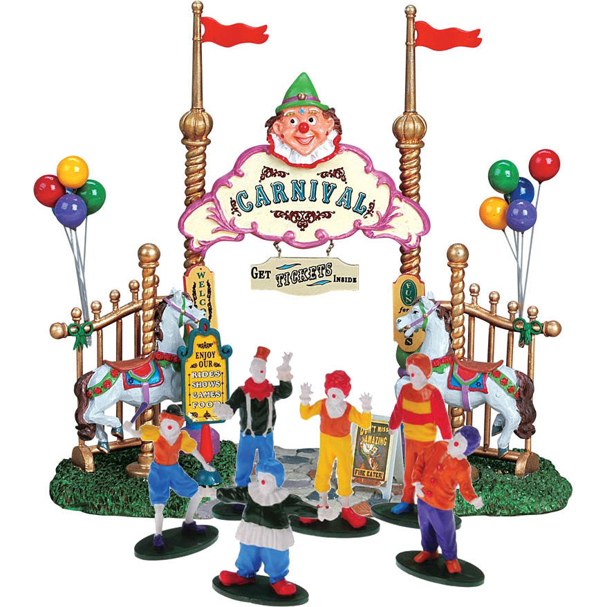 Come Have Fun At The Carnival! (7-Piece Set)