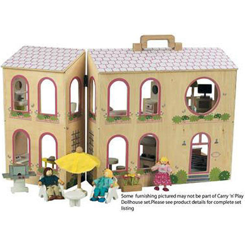Large Portable Dollhouse (Carry 'n' Play)