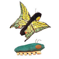 Caterpillar/Butterfly (Represents Transformation/Change)