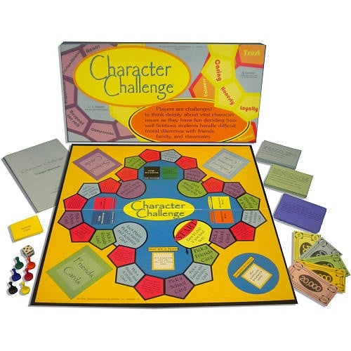 Character Challenge Board Game