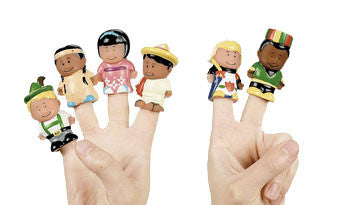 Children of the World (Finger Puppets/Miniatures)