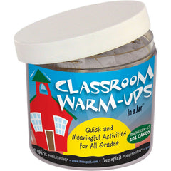 Classroom Warm-Ups In a Jar