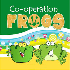 Co-Operation Frogs Book (Includes CD With Games)